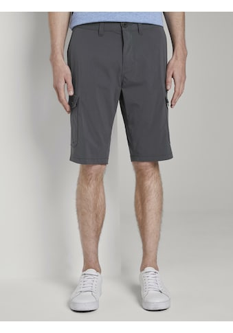 TOM TAILOR Shorts »Funktionale Josh Regular Slim Cargo-Shorts« kaufen