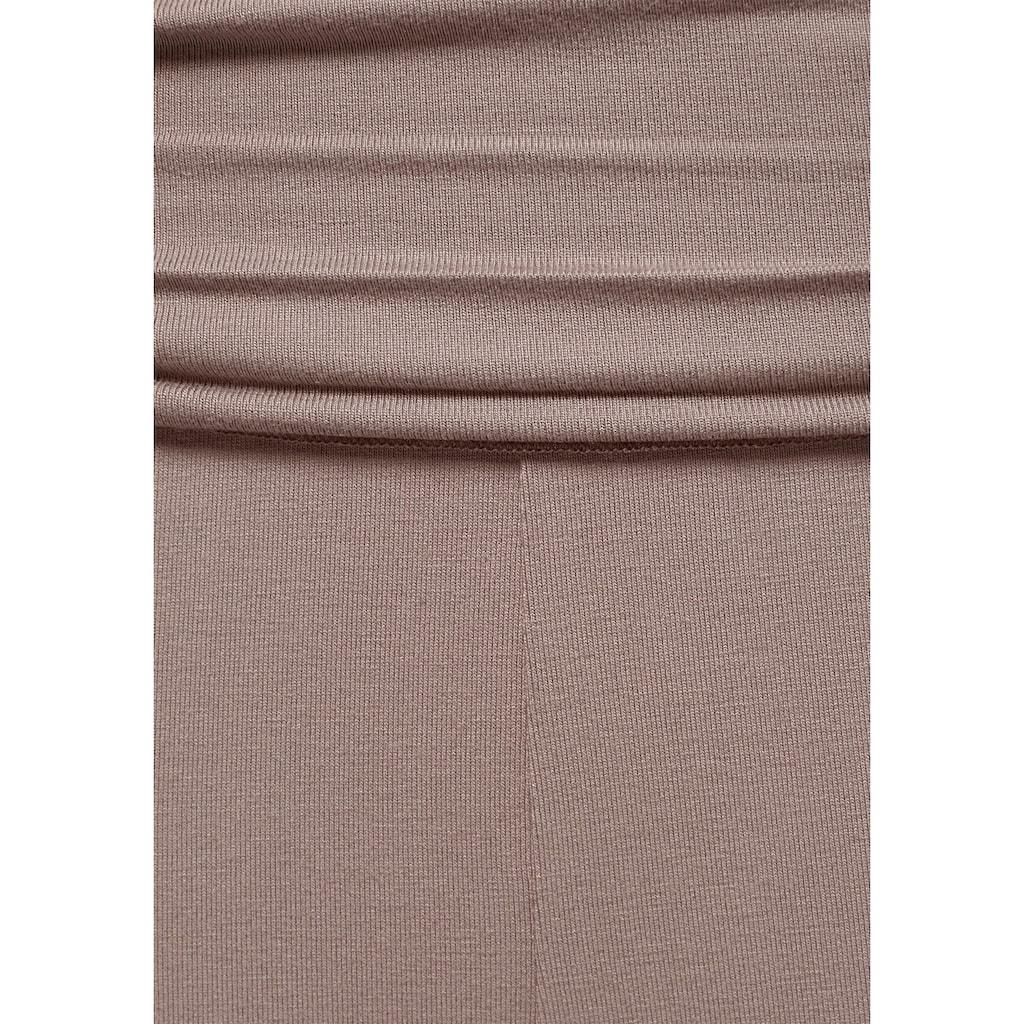 Buffalo Haremshose, mit gerafftem Umschlagbund