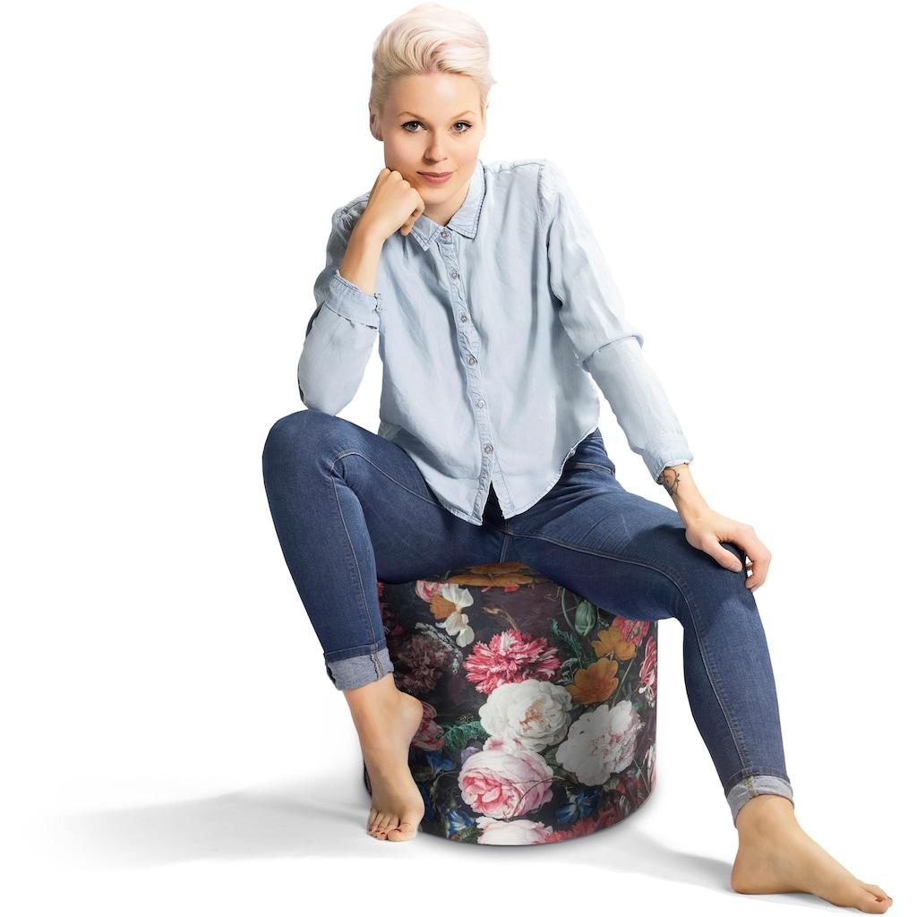 Sitting Point Sitzsack »DotCom FIORE«, Digitaldruck Softfeeling