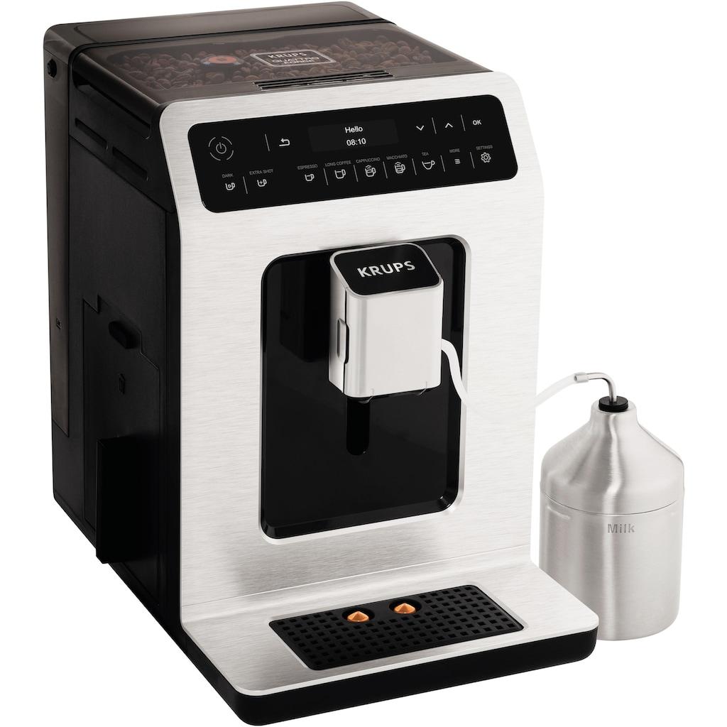 Krups Kaffeevollautomat »EA891D Evidence Metal Espresso-Vollautomat«, mit 15 Voreinstellungen