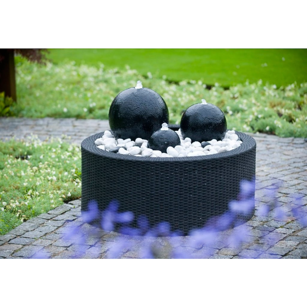 Ubbink Brunnenumrandung »DecoWall Wicker 2«