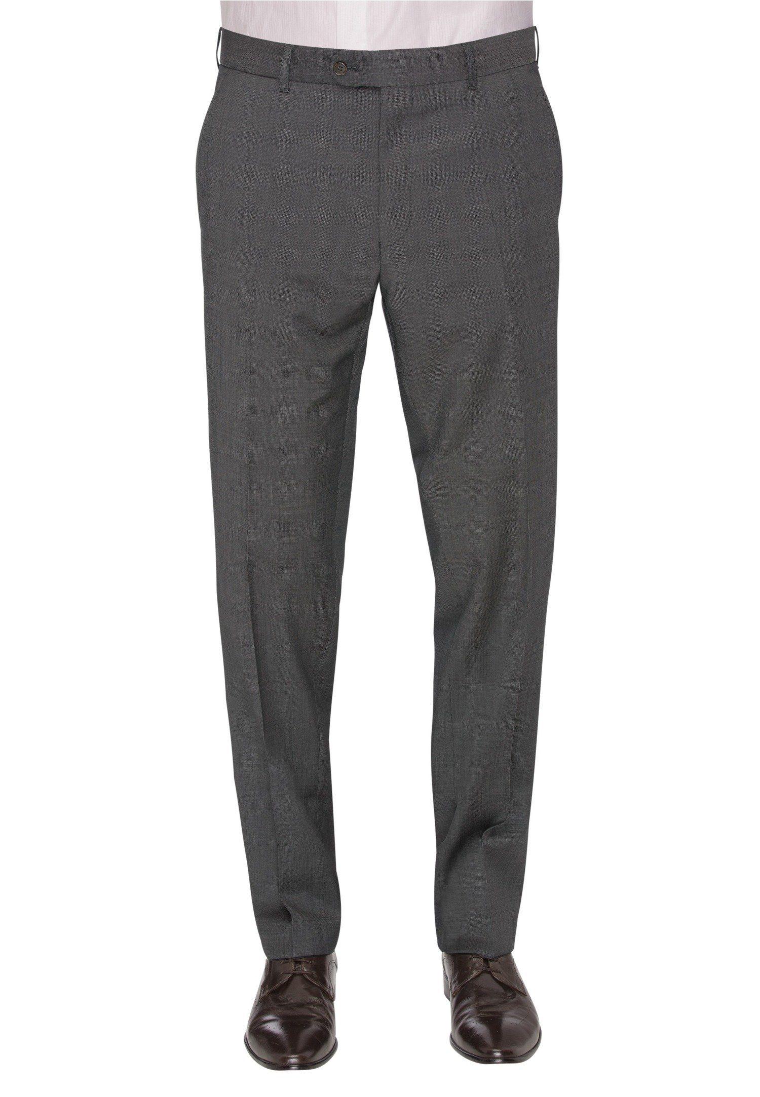 CARL GROSS Anzughose CG Silvio_C | Bekleidung > Hosen > Anzughosen | Grau | Schurwolle - Viskose | Carl Gross