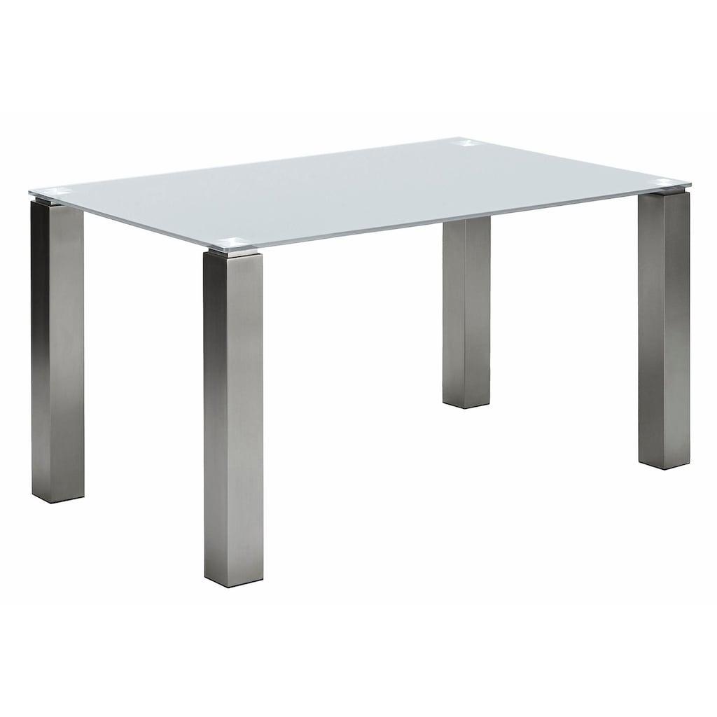NIEHOFF SITZMÖBEL Esstisch »Multitop«, taupe oder weiß, in 5 Breiten