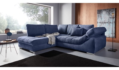 Places of Style Ecksofa »Stacy«, Ottomane wahlweise links oder rechts montierbar,... kaufen