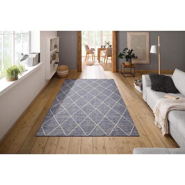 Teppich, »Dubai«, Home affaire, rechteckig, Höhe 3 mm, maschinell gewebt