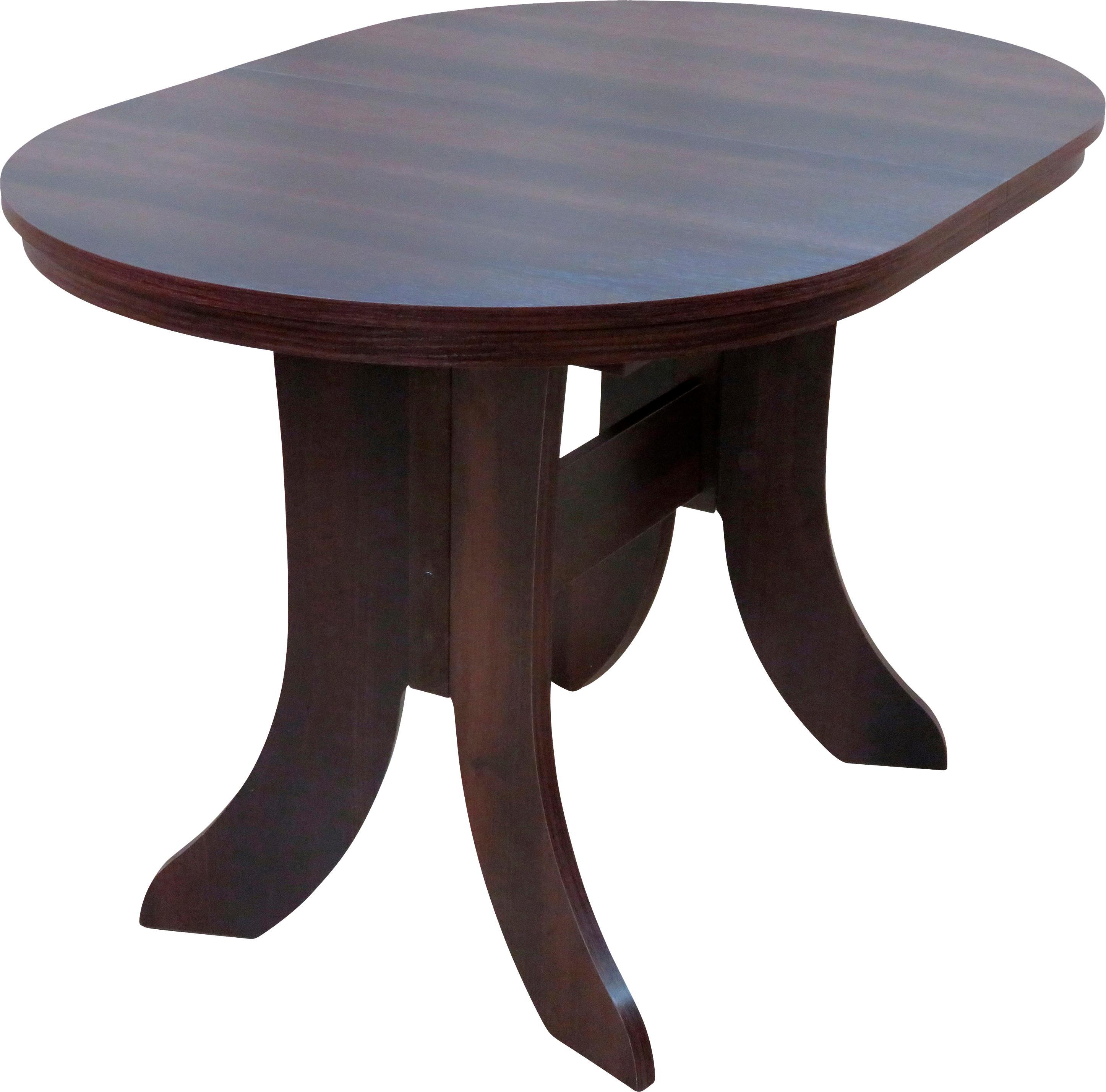 Esstisch Bamberg, ausziehbar auf 160 cm braun Esstische rund oval Tische