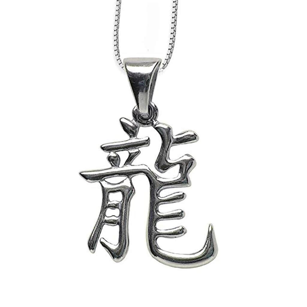 Adelia´s Amulett »Chinesische Sternzeichen Talisman«, Drache - Bezeichnung: Lung, Prinzip: Yang, Element: Holz