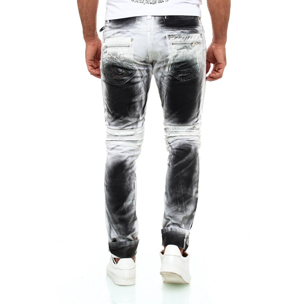 KINGZ Slim-fit-Jeans, im perfekten Look