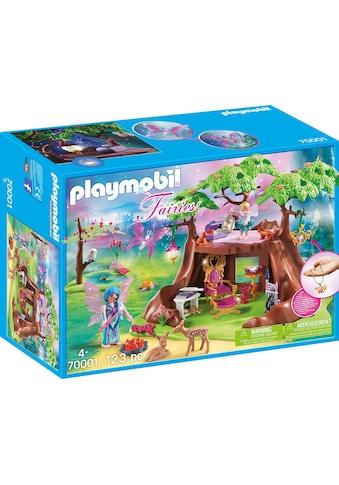 "Playmobil® Konstruktions - Spielset ""Waldfeenhaus (70001), Fairies"", Kunststoff kaufen"