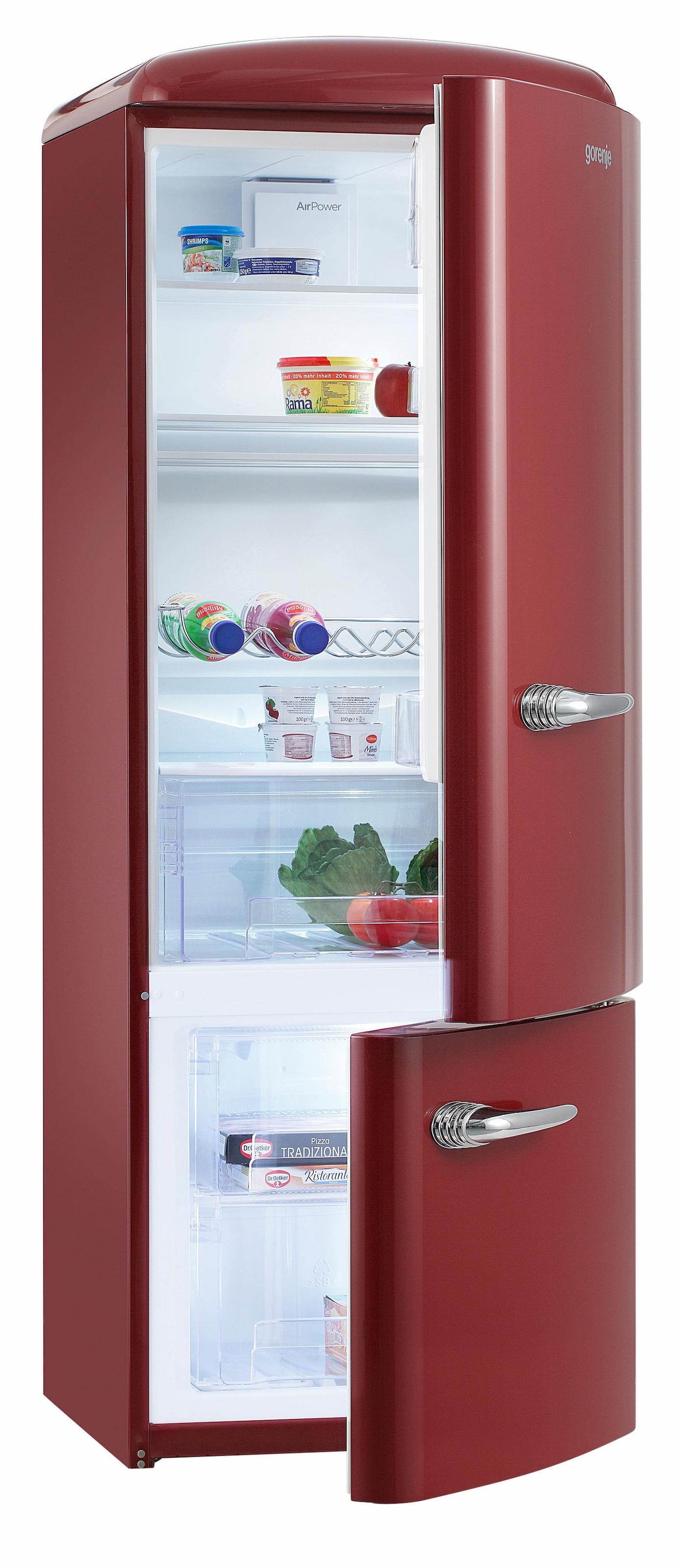 Retro Kühlschrank Rot Gorenje : Retro kühlschränke auf rechnung raten kaufen baur