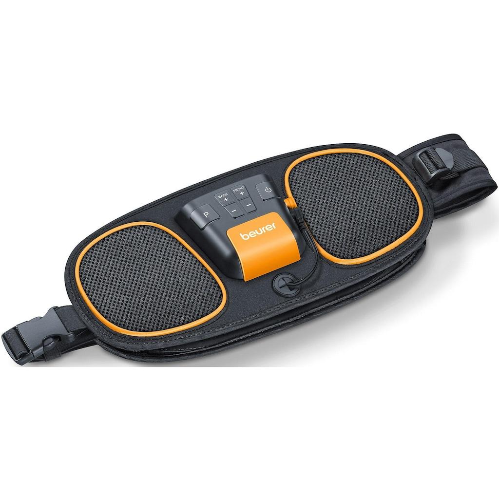 BEURER TENS-EMS-Gerät »EM 39 2-in-1 Bauch- und Rückenmuskeltrainer«, Wasserkontakt-Elektroden (kein Kontaktgel oder Ersatzelektroden notwendig)