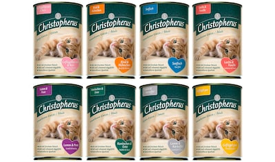 Christopherus Set: Katzennassfutter »Mix«, 8 Dosen á 400 g kaufen