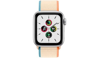 Apple SE GPS, Aluminiumgehäuse mit Sport Loop 40mm Watch kaufen