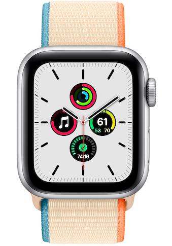 Apple SE GPS, Aluminium 40mm Silber (Sportarmband ) Watch (Watch OS 6) kaufen