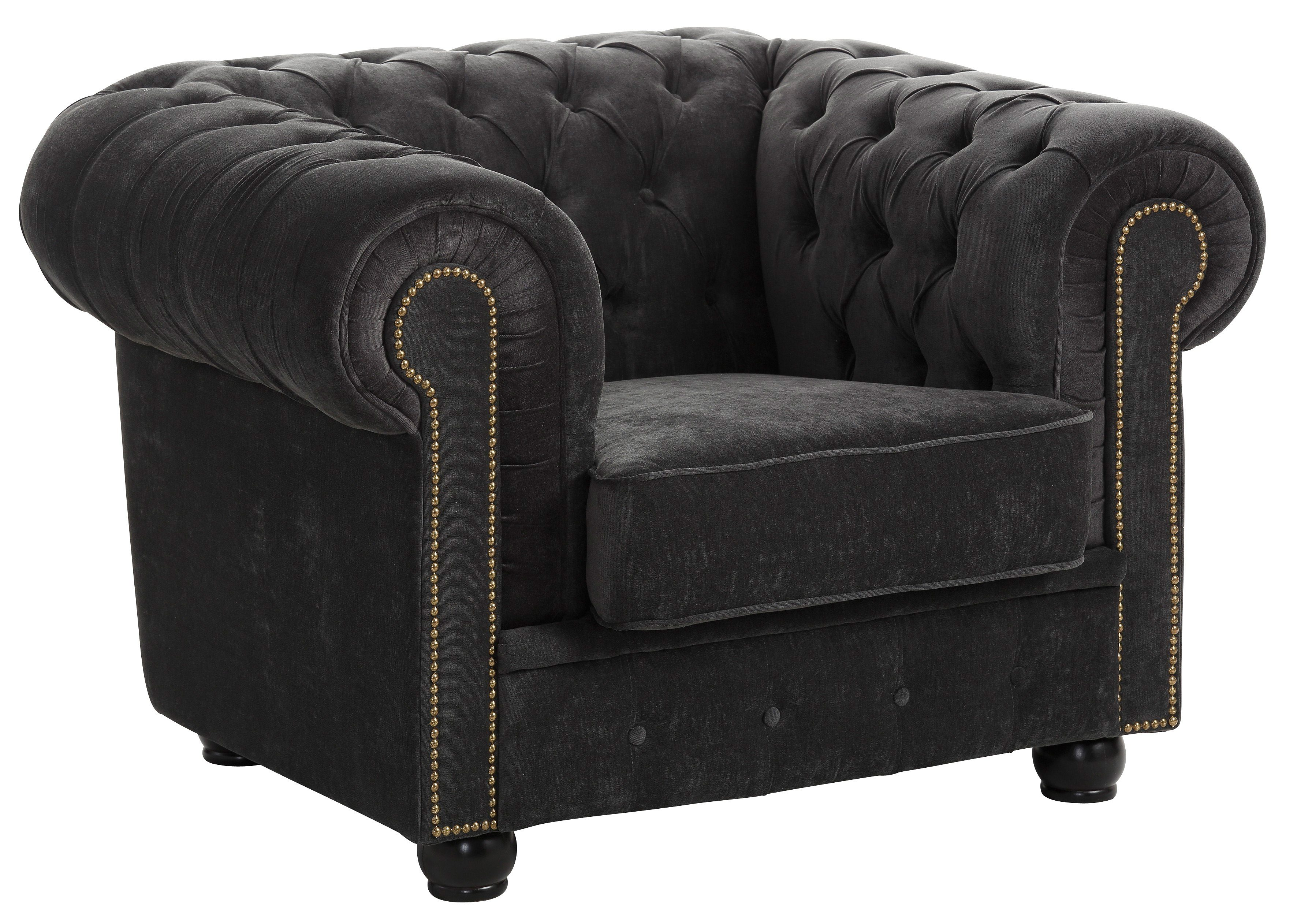 Max Winzer® Chesterfield-Sessel »Rover« | Wohnzimmer > Sessel > Chesterfield Sessel | MAX WINZER