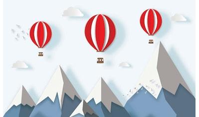 Consalnet Vliestapete »Kindermotiv Ballon«, Comic kaufen