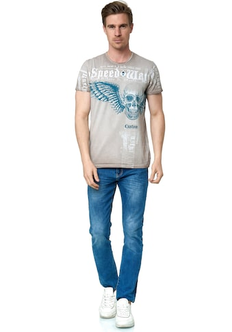 Rusty Neal T-Shirt, mit coolem Allover-Print kaufen
