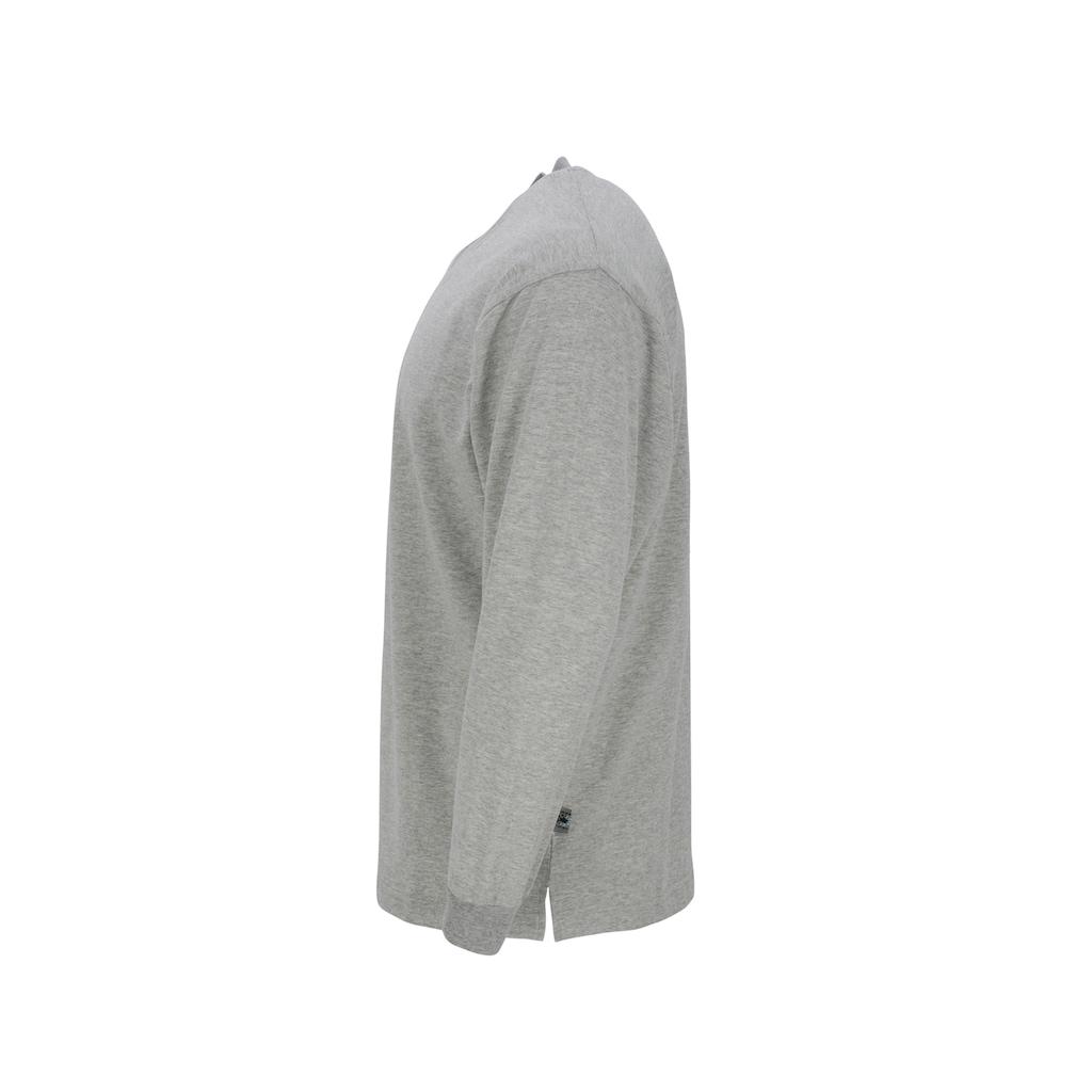 AHORN SPORTSWEAR Sweatshirt im lässigen Basic-Look