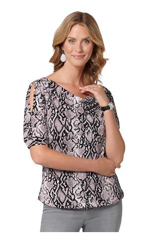 Ambria Shirt mit Schlangen - Print allover kaufen