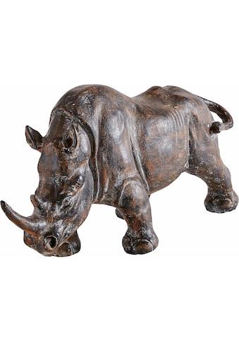 Home affaire Tierfigur »Nashorn« kaufen