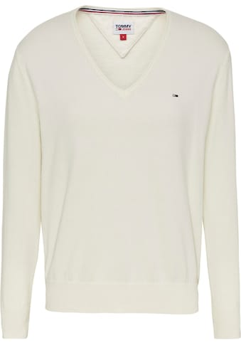 TOMMY JEANS V - Ausschnitt - Pullover »TJW SOFT TOUCH V - NECK SWEATER« kaufen