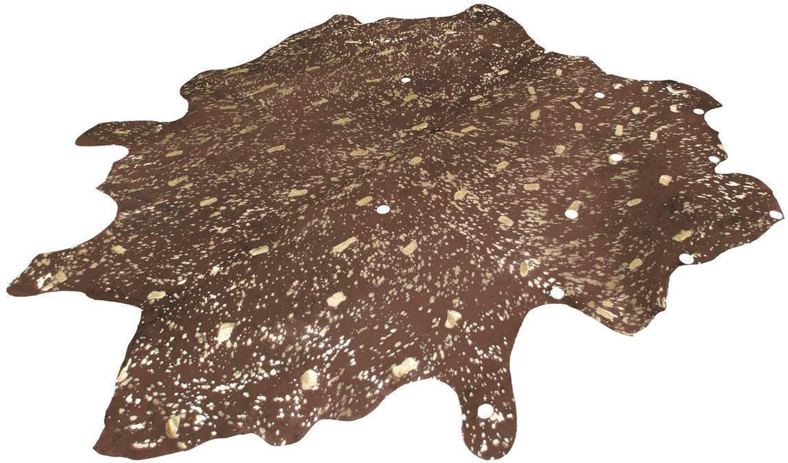 Fellteppich Glam 110 Kayoom fellförmig Höhe 8 mm Naturprodukt