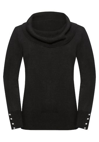 Pullover mit halsfernem Rollkragen kaufen