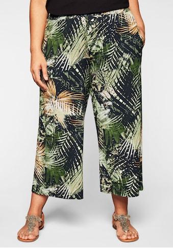 Sheego Jerseyhose, in 3/4-Länge für den Strand kaufen