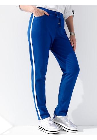 MIAMODA Hose mit seitlichem Streifen kaufen