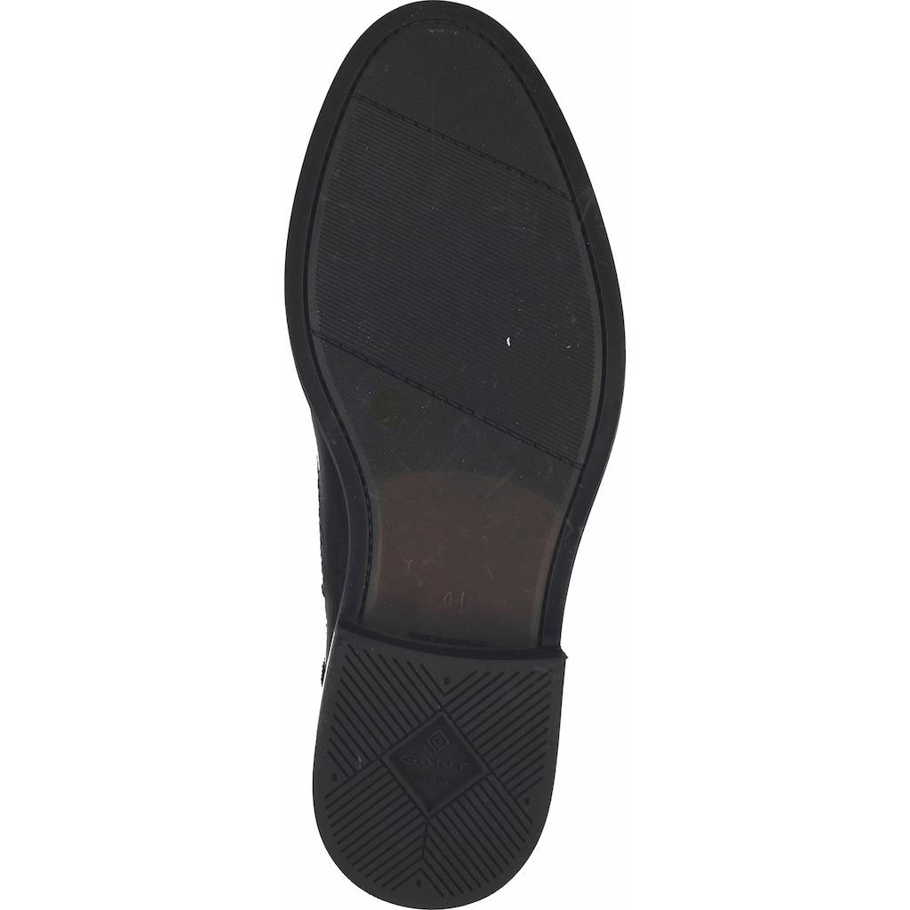 Gant Stiefelette »Glattleder«