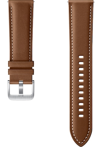 Samsung Uhrenarmband »Stitch Leather Band ET-SLR84 22 mm« kaufen