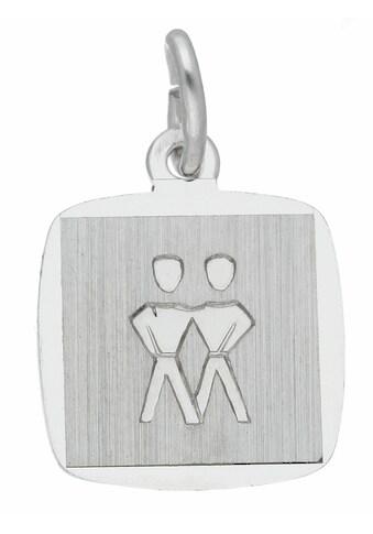Adelia´s Kettenanhänger »925 Silber Sternzeichen Anhänger Zwilling« kaufen