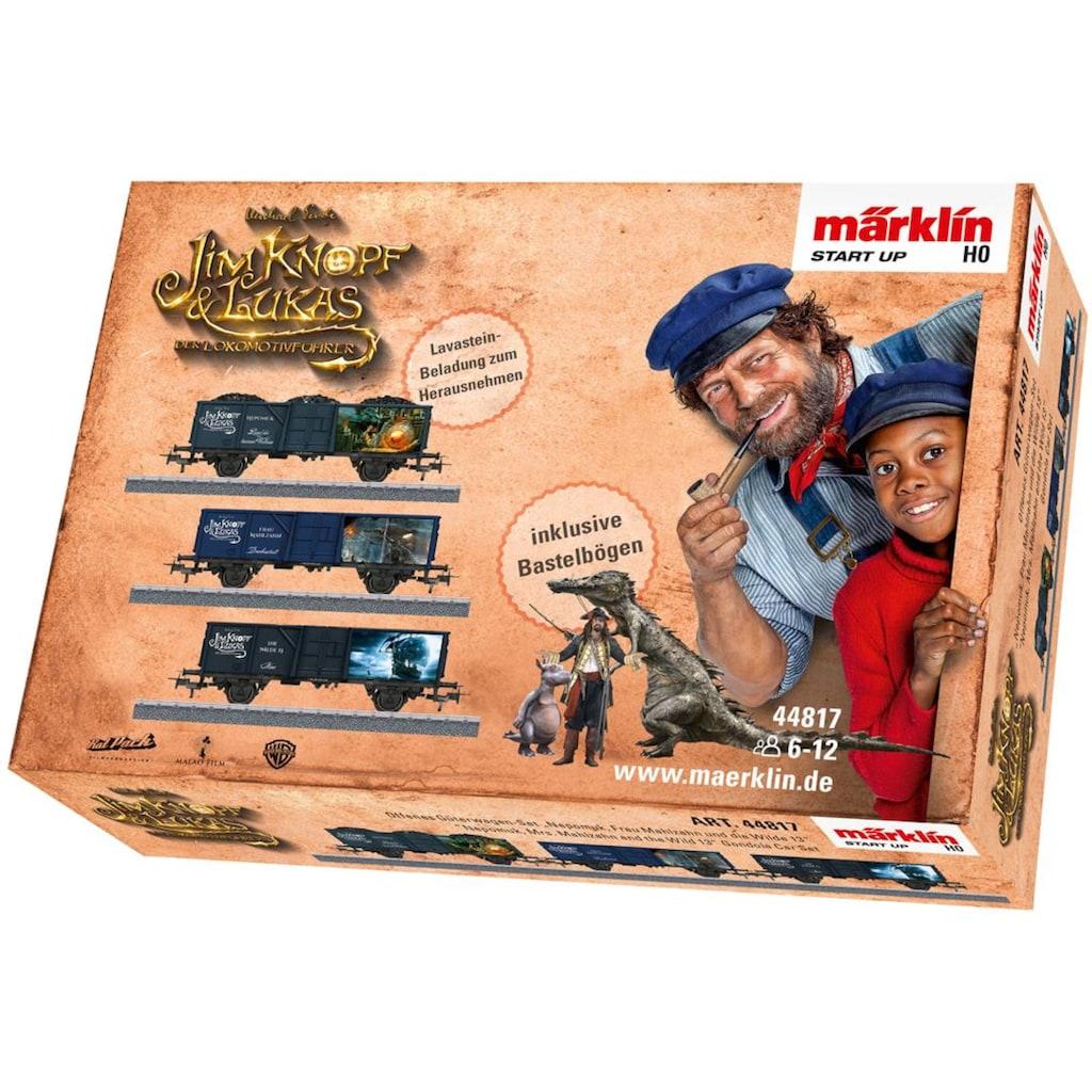 Märklin Güterwagen »Märklin Start up - PingPong, Prinzessin LiSi, Herr TurTur- Jim Knopf© - 44816«