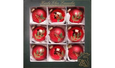 """Krebs Glas Lauscha Weihnachtsbaumkugel """"Kerzen"""" kaufen"""