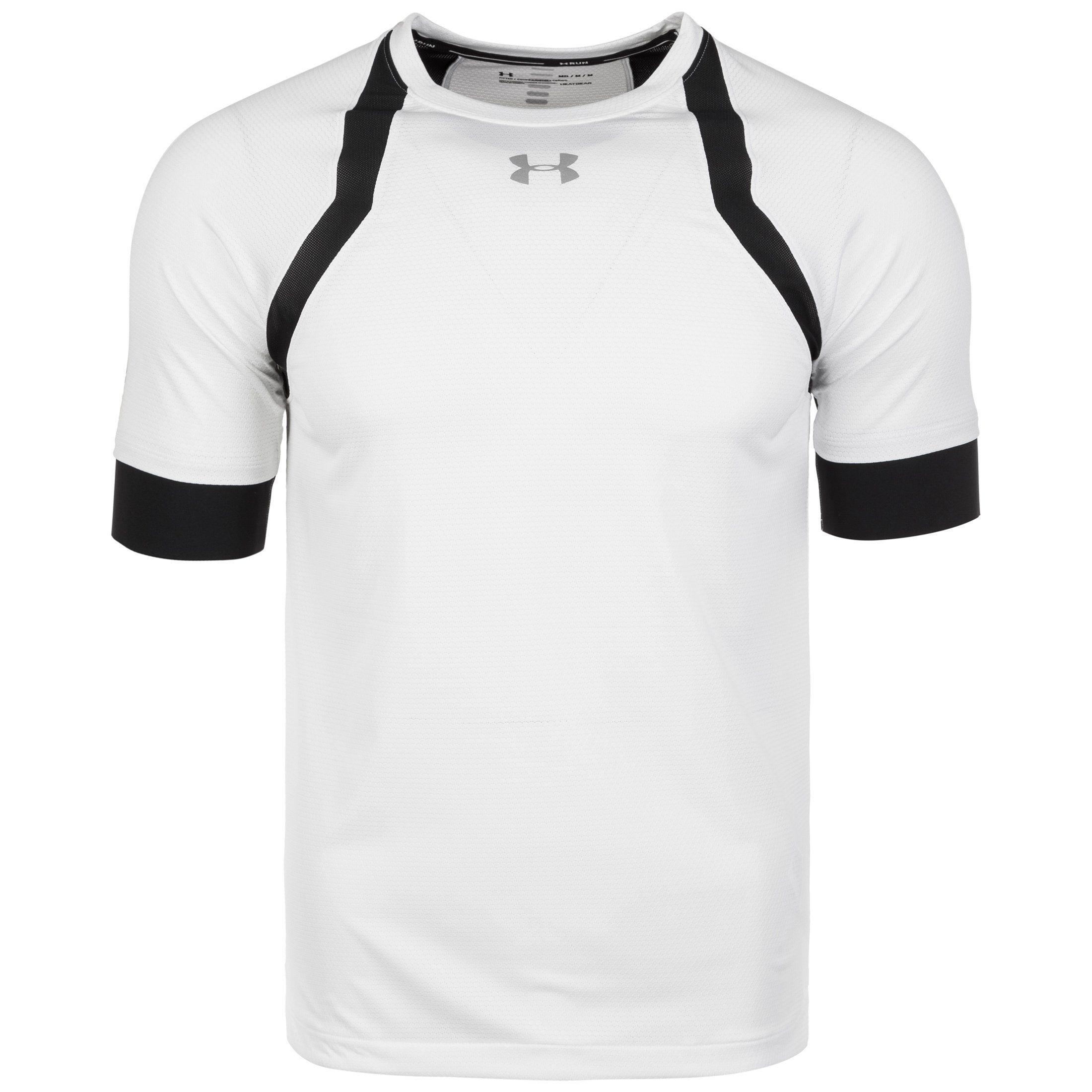 Under Armour Laufshirt Heatgear Hexdelta | Sportbekleidung > Sportshirts > Laufshirts | Weiß | Under Armour