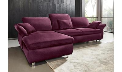 DOMO collection Ecksofa »Smoothie«, wahlweise mit Bettfunktion kaufen
