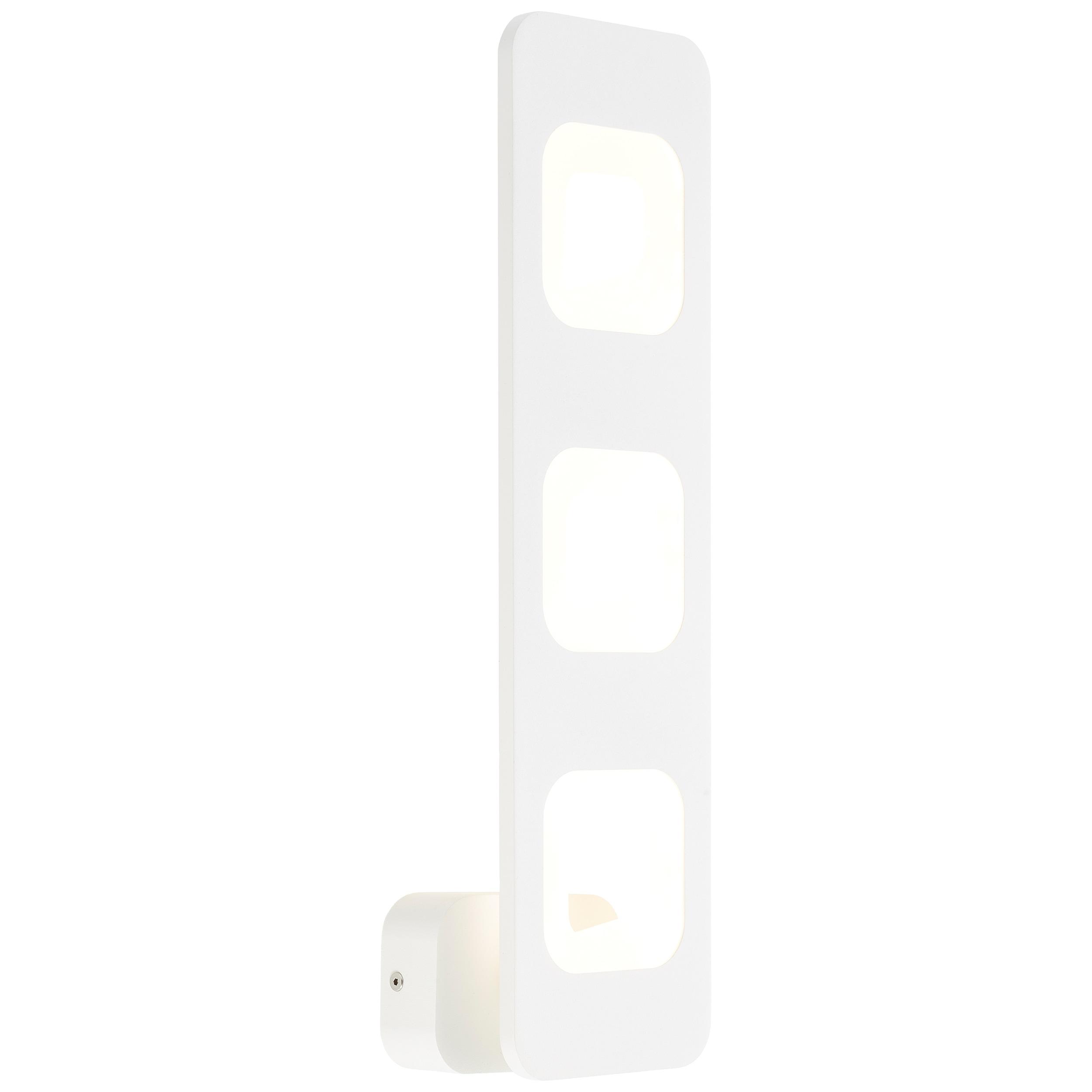 AEG Callida LED Wandleuchte 3flg sand/weiß
