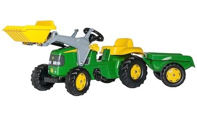 ROLLY TOYS Tretfahrzeug »John Deere«, Traktor mit Trailer und Lader kaufen