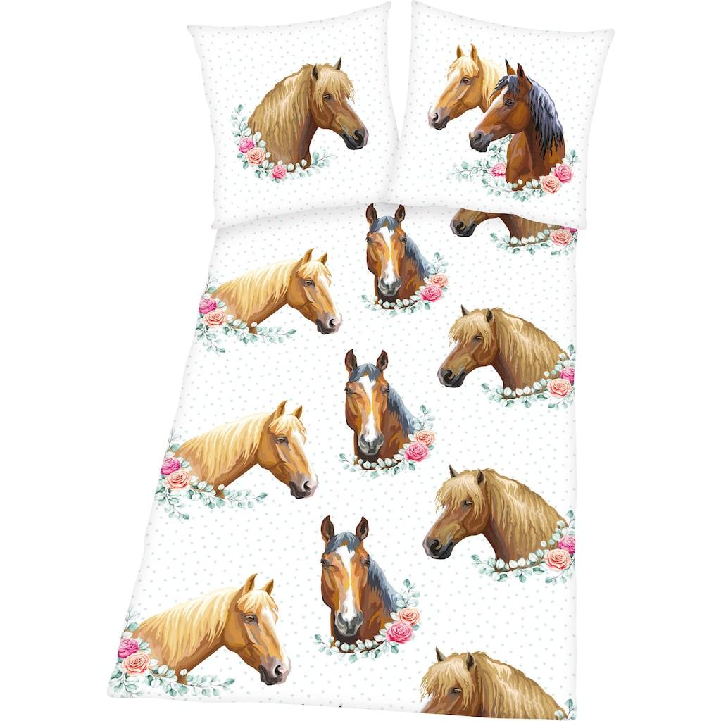 Herding Young Collection Bettwäsche »Pferd«, mit tollem Pferde Motiv