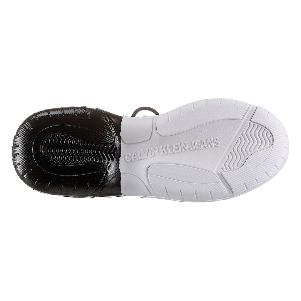 Calvin Klein Sneaker »Meadow«, mit Lackoptik