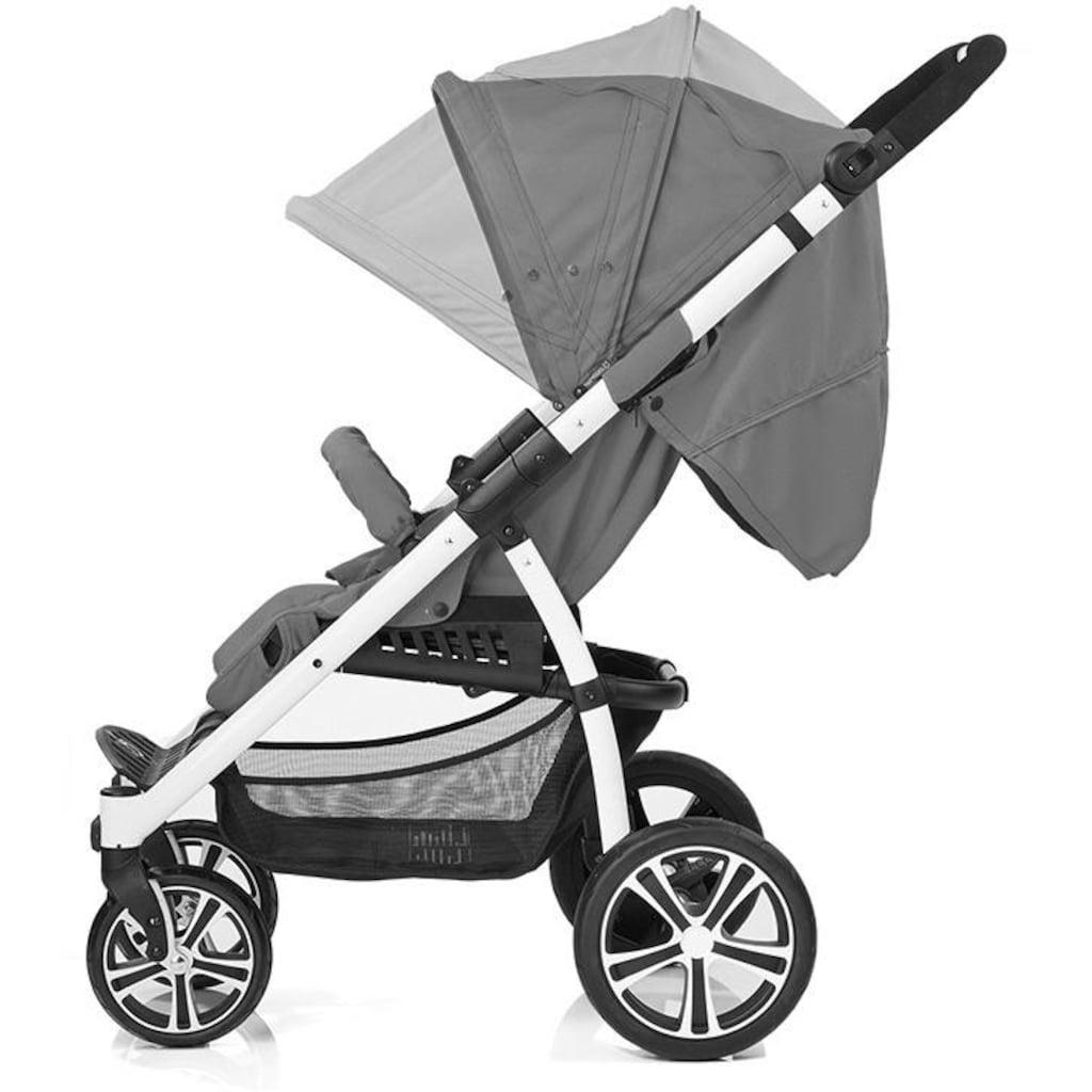 Gesslein Kinder-Buggy »S4 Air+ White/Black, Cappuchino/Jeans«, mit schwenkbaren Vorderrädern; Kinderwagen, Buggy, Sportwagen, Sportbuggy, Kinderbuggy, Sport-Kinderwagen