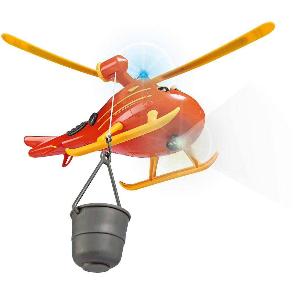 SIMBA Spielzeug-Hubschrauber »Feuerwehrmann Sam, Wallaby«, mit Licht und Sound