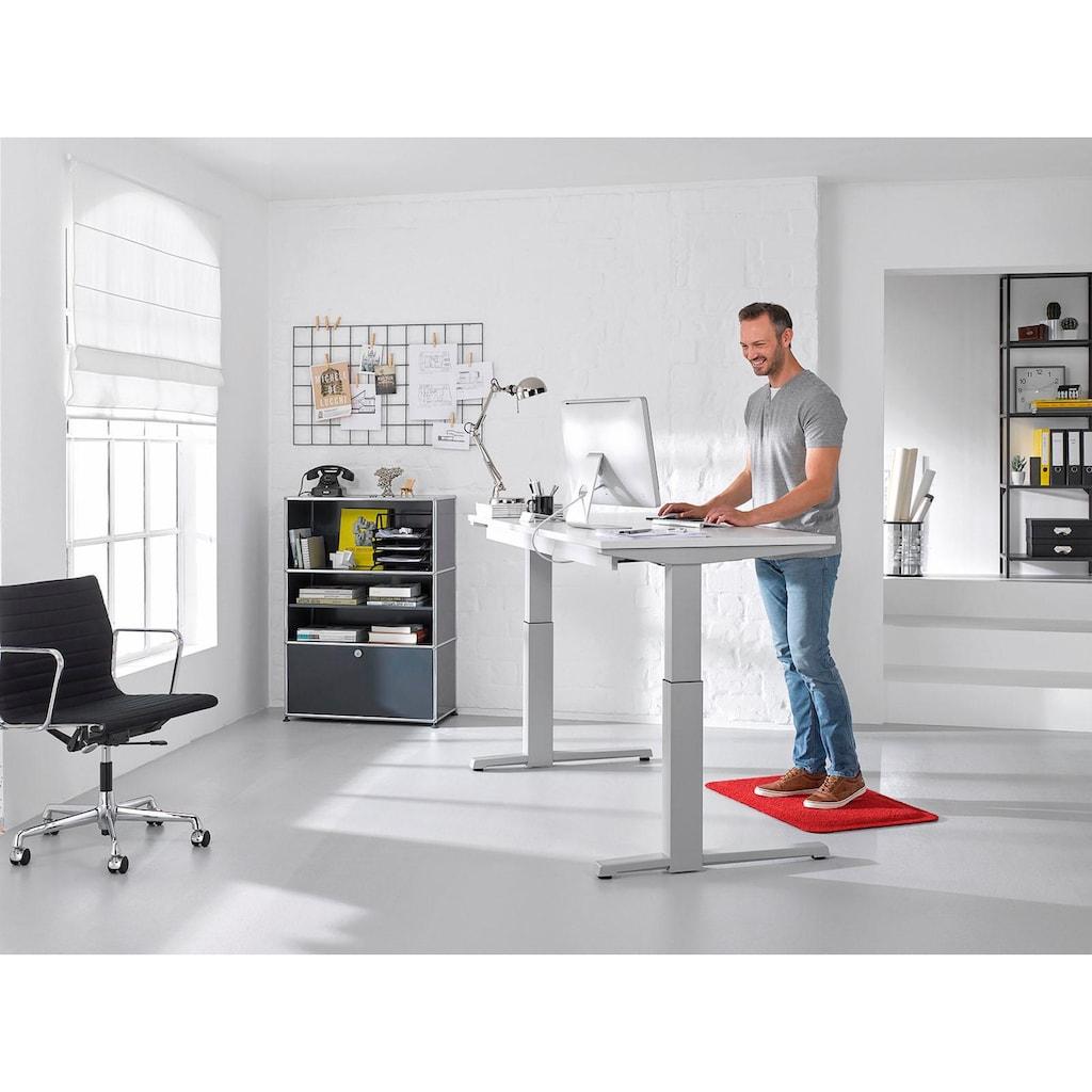 wash+dry by Kleen-Tex Fußmatte »Stand on Uni«, rechteckig, 21 mm Höhe, Schmutzfangmatte