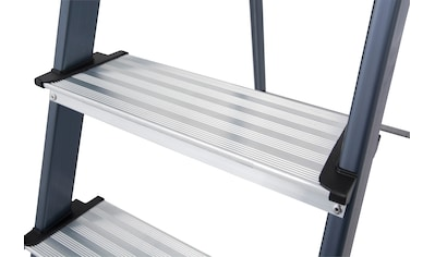 KRAUSE Stehleiter »Securo«, Alu eloxiert, 1x7 Stufen, Arbeitshöhe ca. 350 cm kaufen