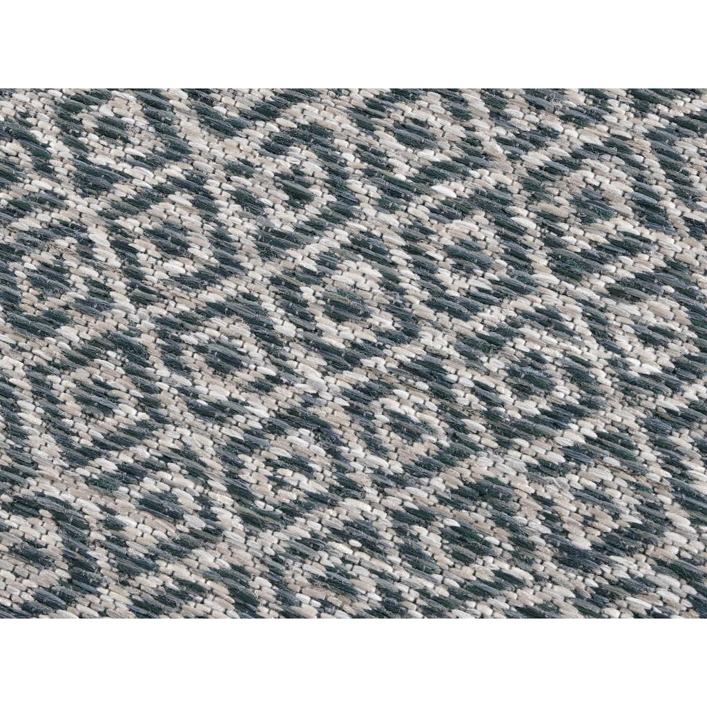 ELLE Decor Teppich »Croix«, rechteckig, 6 mm Höhe, In- und Outdoor geeignet, Wohnzimmer
