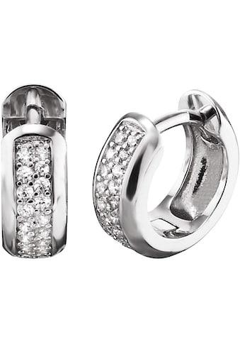 Engelsrufer Paar Creolen »Bright like a diamond, CREOLE ANNA CRYSTAL - ERE - ANNA - ZI - CR« kaufen