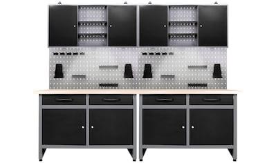 ONDIS24 Werkstatt-Set »Werner«, 240 cm, mit LED kaufen
