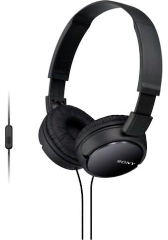 Sony Headset »Faltbarer Kopfhörer mit Headsetfunktion« kaufen