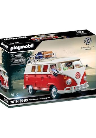 Playmobil® Konstruktions-Spielset »Volkswagen T1 Camping Bus (70176) VW Lizenz« kaufen