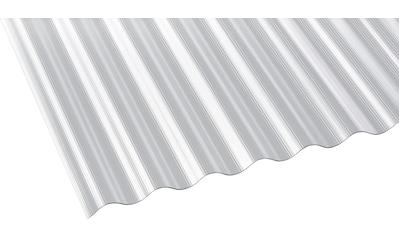 GUTTA Wellplatte Polycarbonat klar, BxL: 90x300 cm kaufen